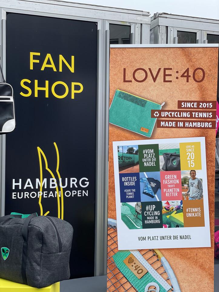 Fanshop Hamburg European Open x LOVE:40