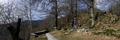madonna del piumin Bagneri 950 fronte18x
