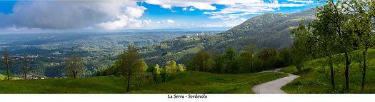 La serra da Sordevolo fronte 33x9 - 0900