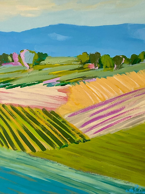 """""""Fields Forever 3""""   24x30   Canvas"""