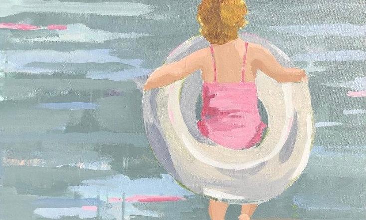 """Emily"" | 20 x 20 | Canvas"