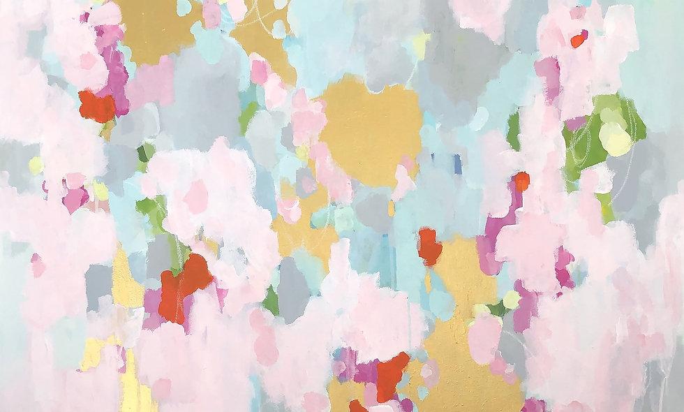 """Jackie O"" | 36 x 36 | Canvas"