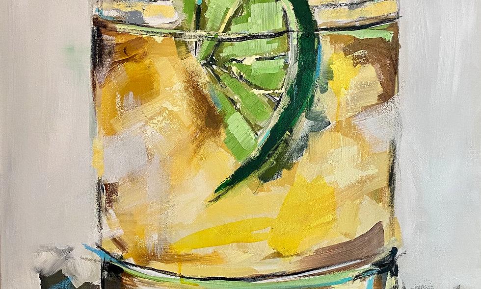 """Margarita"" | 30 x 30 | Canvas"