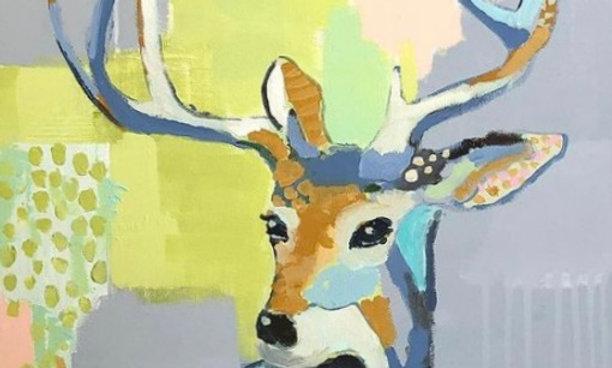 """Deer to Me"" | 16 x 20 | Canvas"