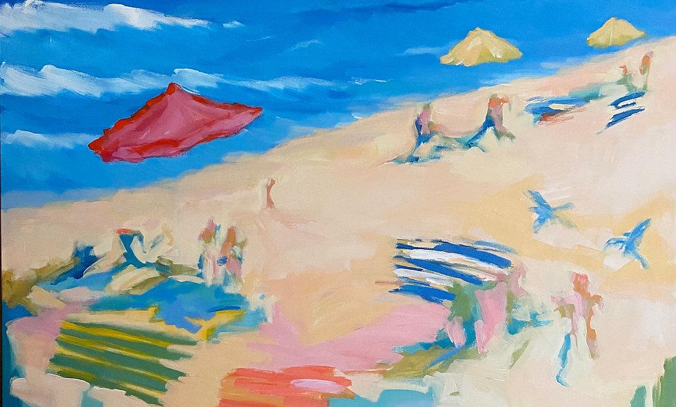 """Beach Day"" | 30 x 40 | Canvas"