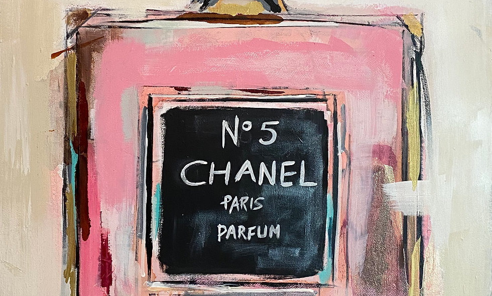 """SOLD """"Chanel""""   40 x 30   Canvas"""