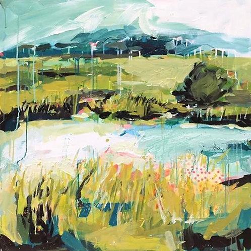 """Sea to Summit 2"" | 30 x 30 | Canvas"