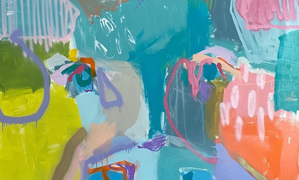 """Frank"" | 60 x 60 | Canvas"