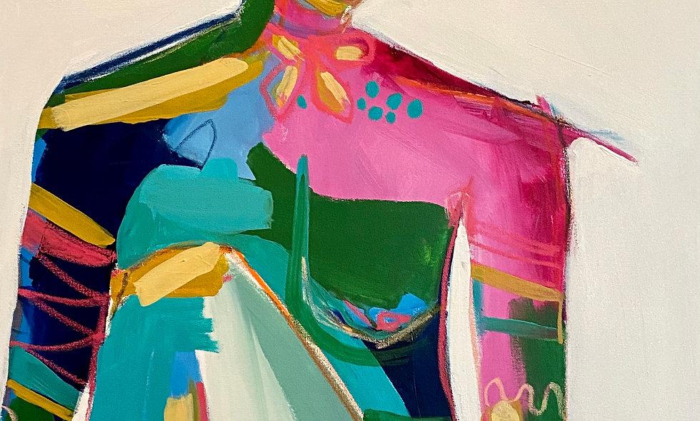 """Flora"" | 24 x 30 | Canvas"