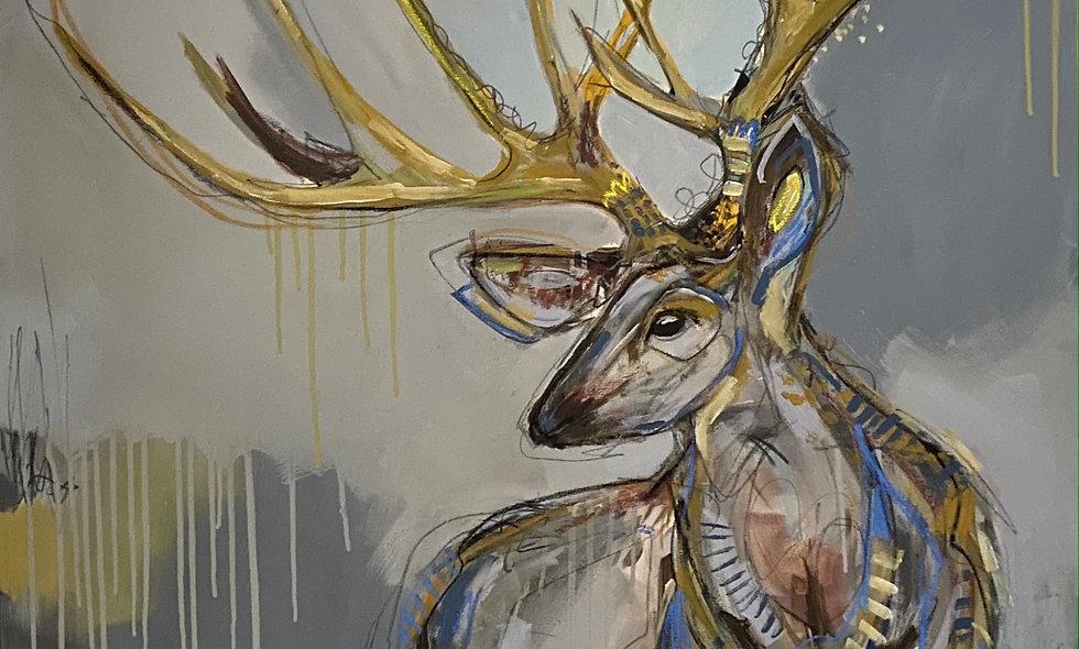 """""""Carolina Rain""""   36x36   Canvas"""