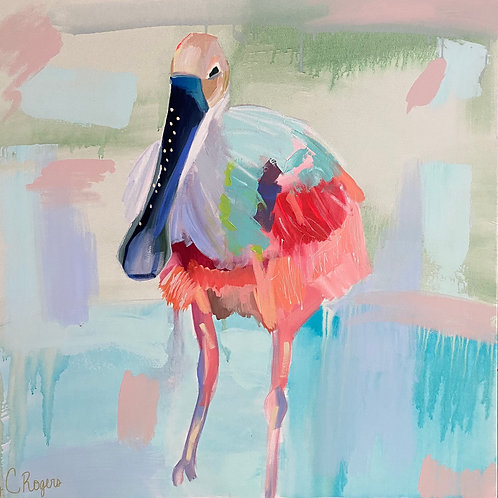 """Spoonfull of Sugar"" | 36x36 | Canvas"