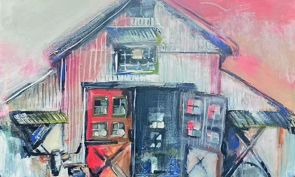 """Old Soul"" | 20x20| Canvas"