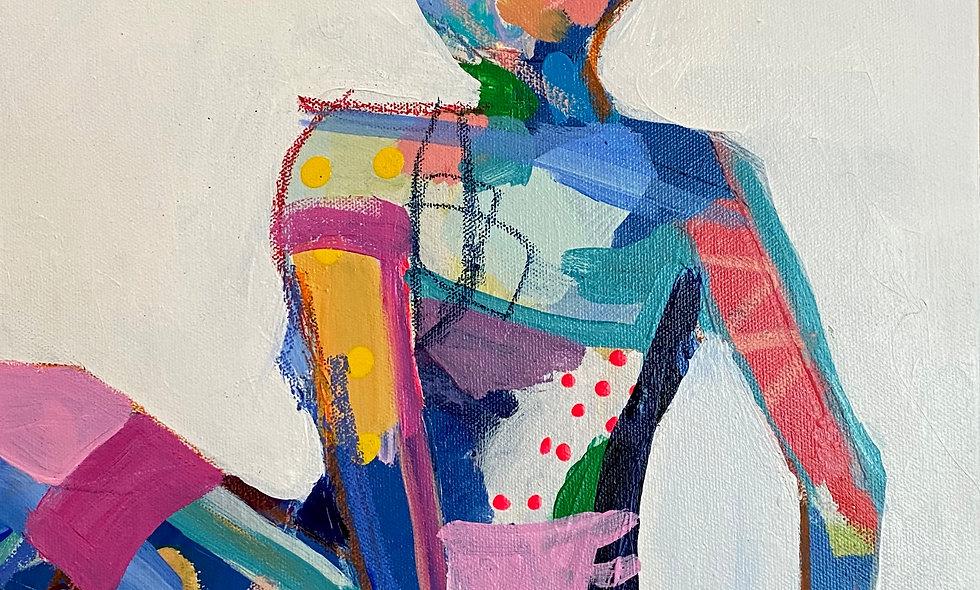 """Petite 2"" | 12 x 12 | Canvas"
