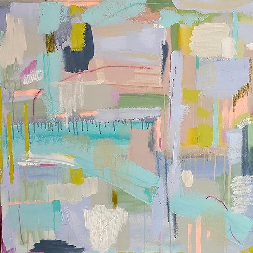 """Shine On""   36x36   Canvas"