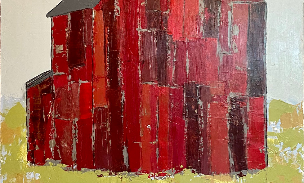 """""""Rugged Red""""   48 x 60   Canvas"""