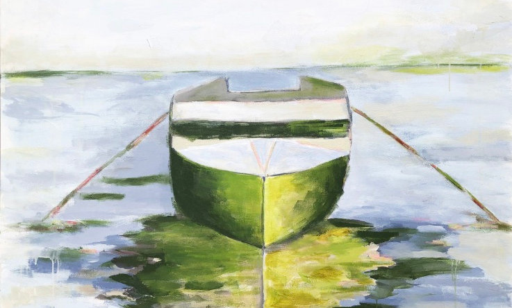 """Lake Life"" | 36 x 48 | Canvas"