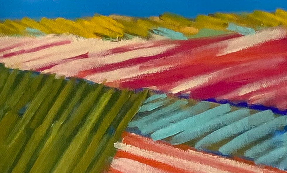 """Fields 3""   8x8   Canvas"