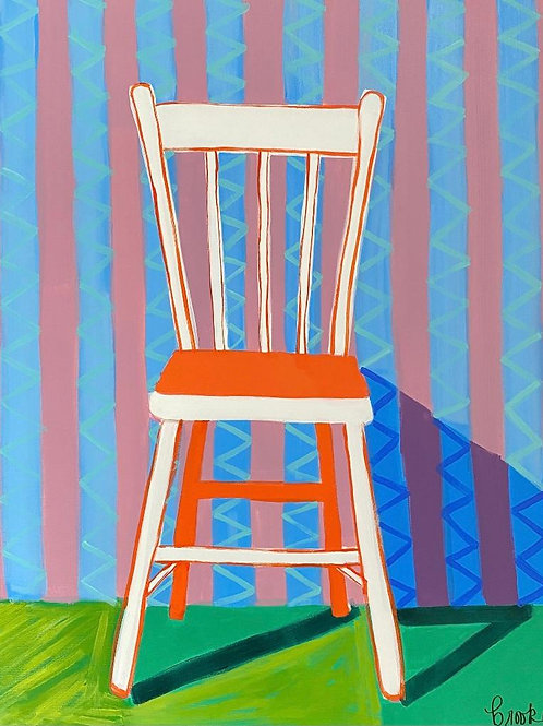 """""""Sitting with Hope""""   24x30   Canvas"""