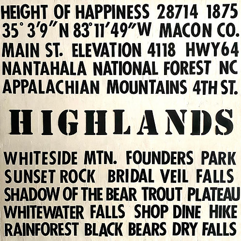 """Highlands"" | 48x48 | Canvas"