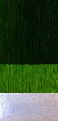 Green on metal