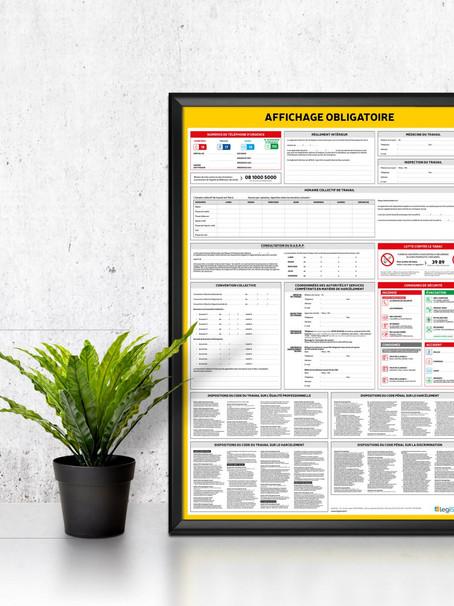 Affichages et registres obligatoires