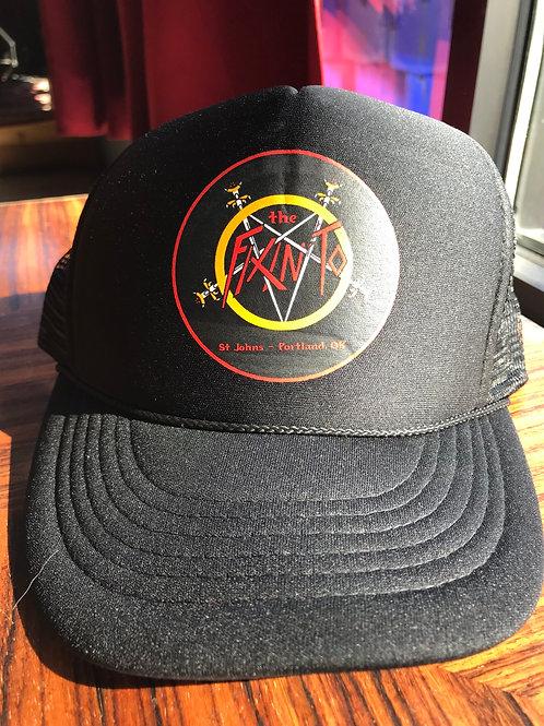 Fixin' To Slayer logo trucker hat.