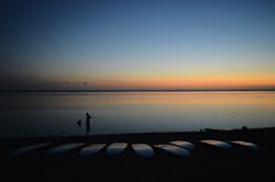 sunset paddle réunion