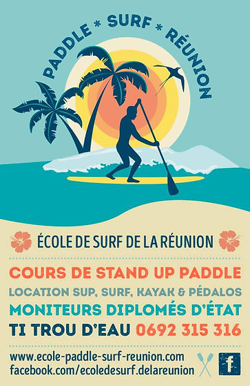 location paddle lagon reunion
