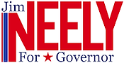 Jim Neely for Governor text logo