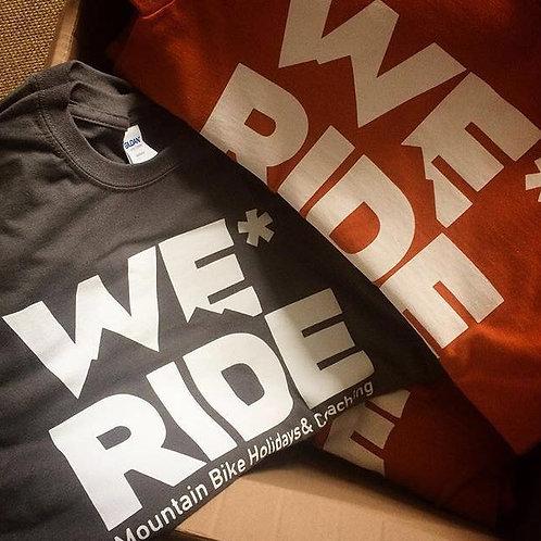 WeRideMTB Short Sleeve Cotton T-shirt