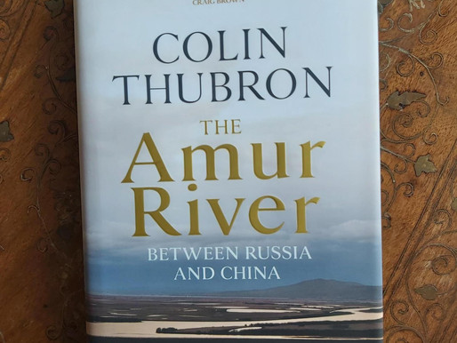 """What divides Russia and China? """"One of the most formidable rivers on Earth"""""""