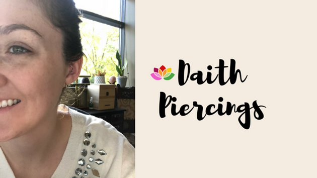 Daith Piercings | Migraines | Wellness by Ellie | Alternative Therapy