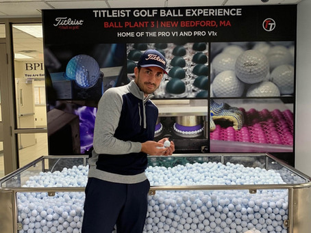 Inside Titleist Ball Plant III, New Bedford, MA