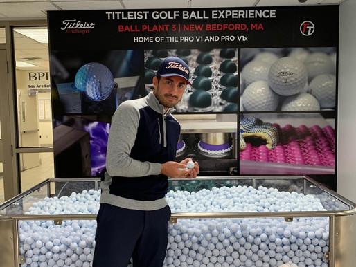 Inside Titleist Ball Plant III, New Bedford, MA