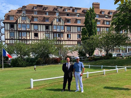 Hotel Barriere Deauville - Best Golf Hotel I have experienced in France.