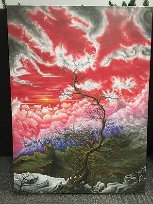"""""""Spark"""" Canvas Print"""