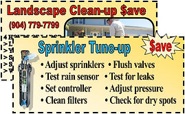 #1 in Sprinkler Repair Jacksonville and a great price.
