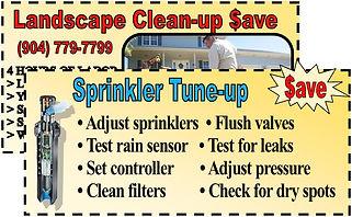 Jacksonville's #1 Sprinkler Repair Deals