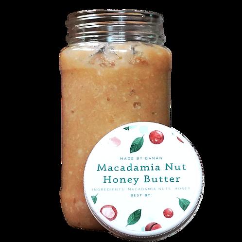 Macadamia Nut Honey Butter