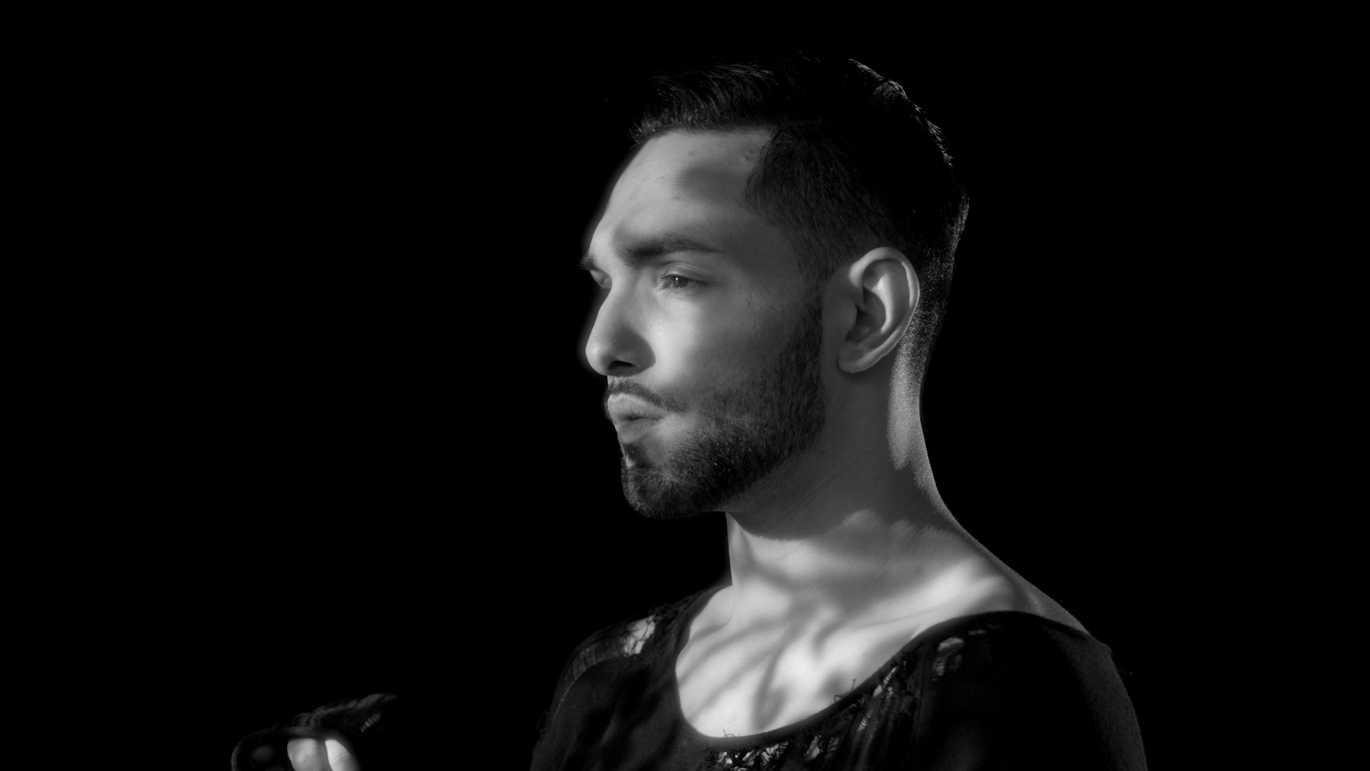 Low Budget Black & White music video