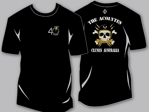 The Acolytes 40th  Anniversary Short Sleeve T-shirts