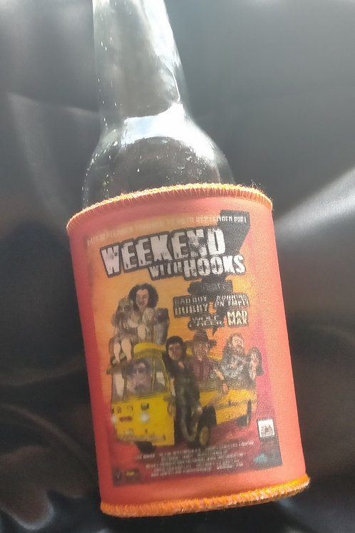 Weekend With Hooks Stubby Holder