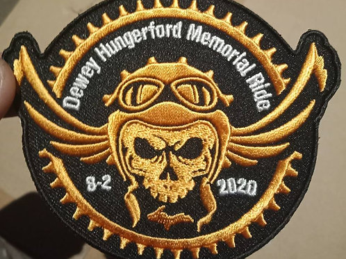 Dewey Hungerford Memorial Ride Patch