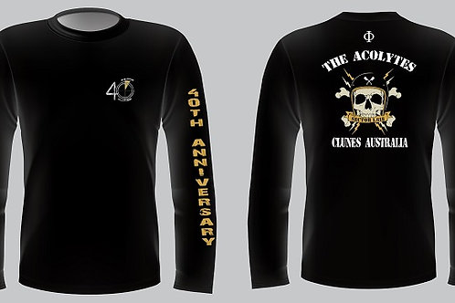 The Acolytes 40th   Anniversary Long Sleeve