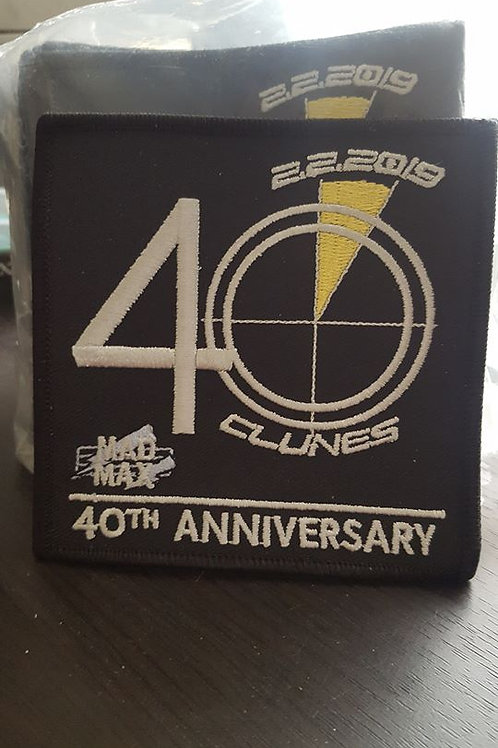 Mad Max 40th Anniversary Patch