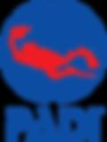 Logo PADI - Professional Association of