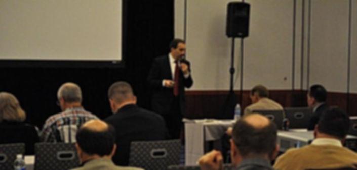Michael Ventriello, presenting