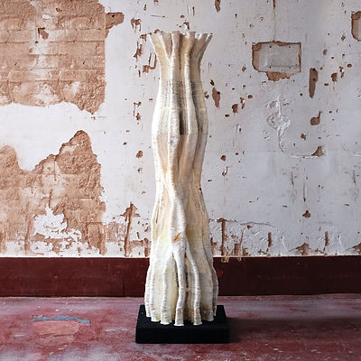 Mycelium 3d printed column