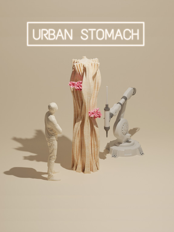 Urban Stomach - up-coming exhibition & live performance in September for London Design Festival