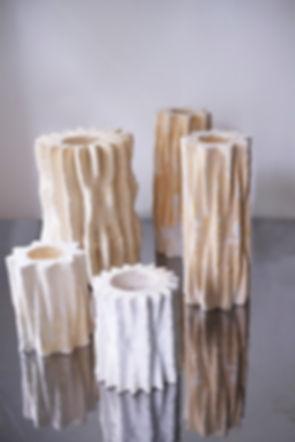 Mycelium vases